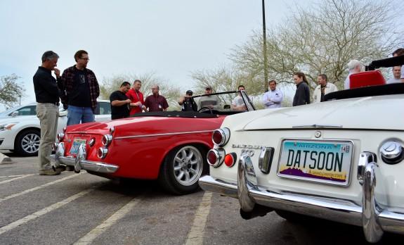 1967 Datsun Roadster, Roadster Roadtrip,