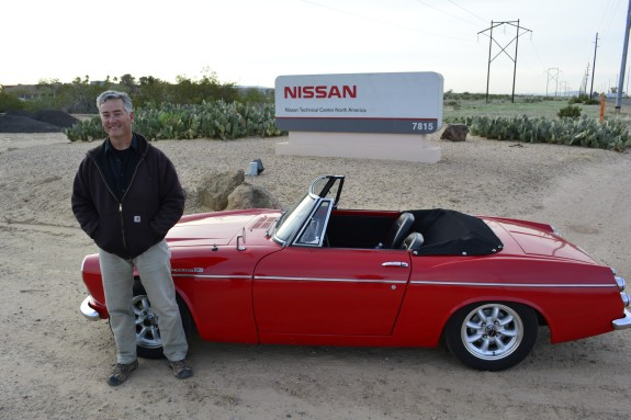 1967 Datsun Roadster, Roadster Roadtrip, Nissan Proving Grounds