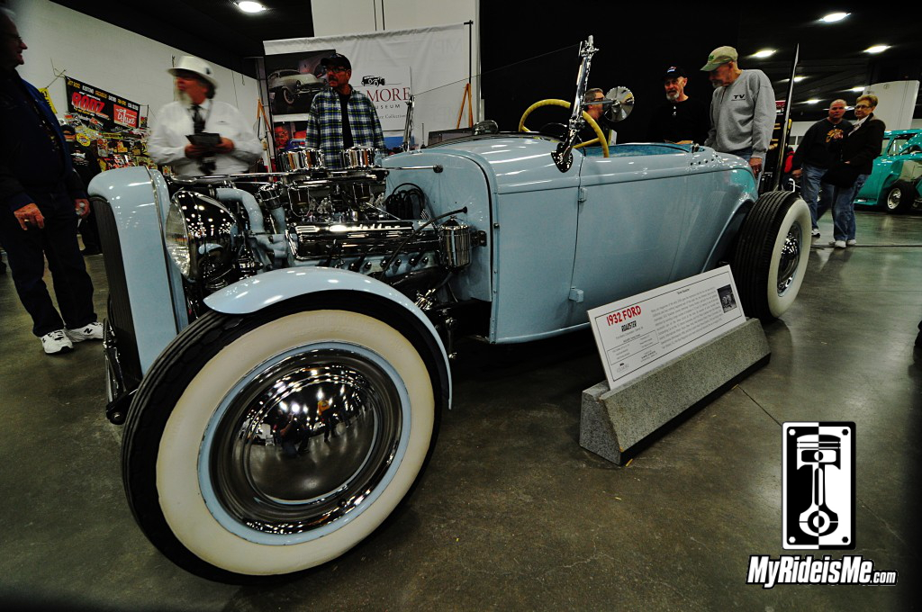 "1932 Ford ""Street Roadster"", 2014 Detroit Autorama Basement, Hot Rod pictures"