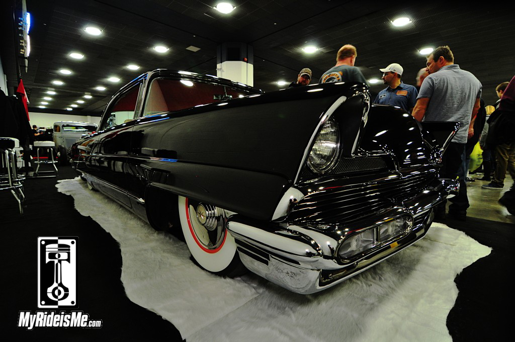 1956 Lincoln Premiere custom, 2014 Detroit Autorama Basement, Hot Rod pictures