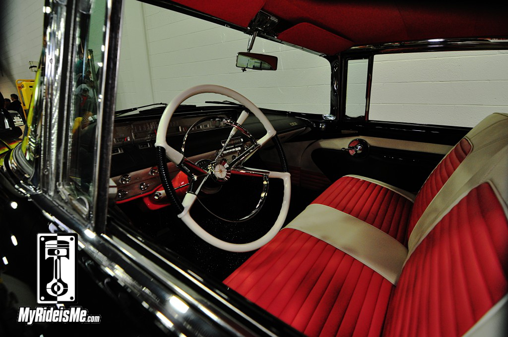 1956 Lincoln Premiere interior, 2014 Detroit Autorama Basement, Hot Rod pictures