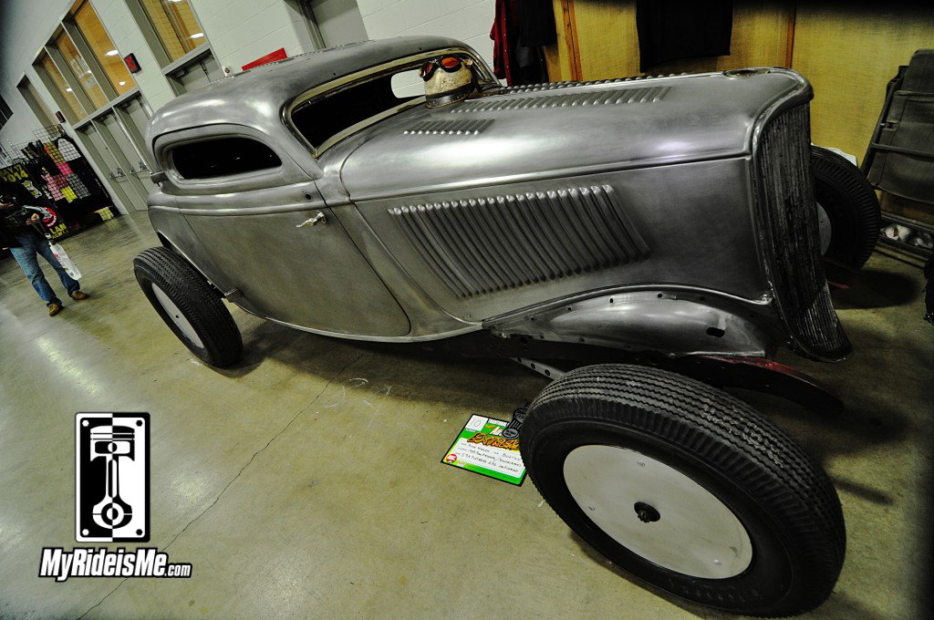 1934 Ford Coupe, 2014 Detroit Autorama Basement, Hot Rod pictures