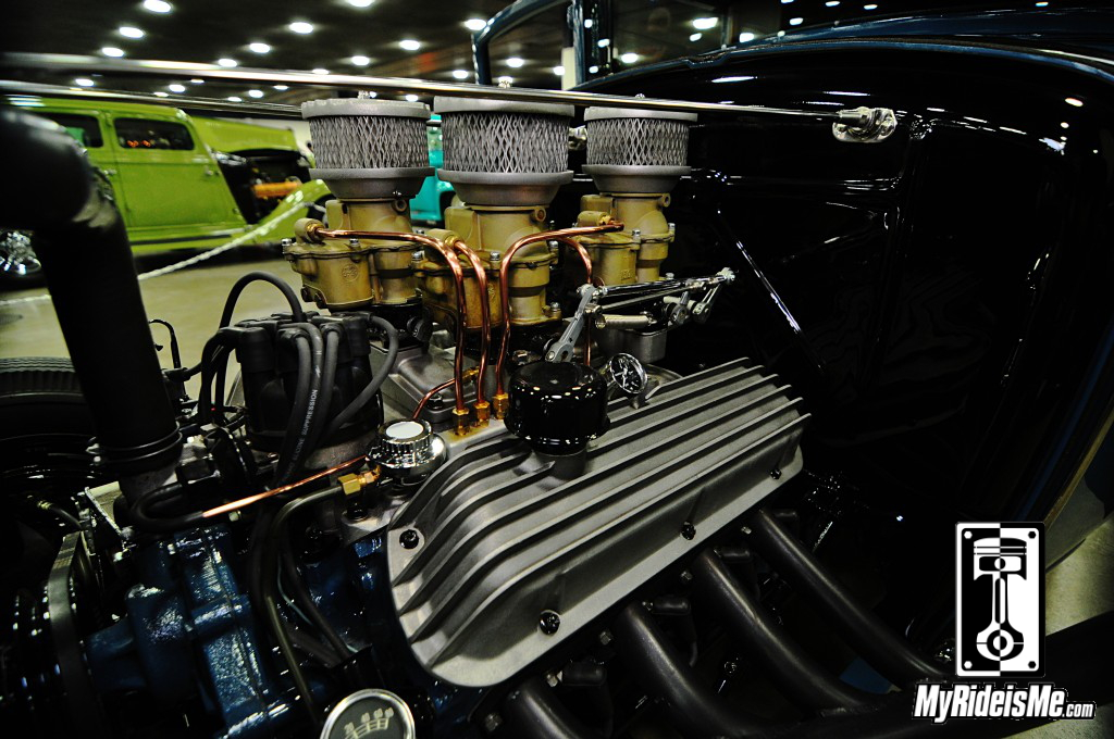 1930 Ford Model A Hot Rod 289 Engine, 2014 Detroit Autorama Basement, Hot Rod pictures
