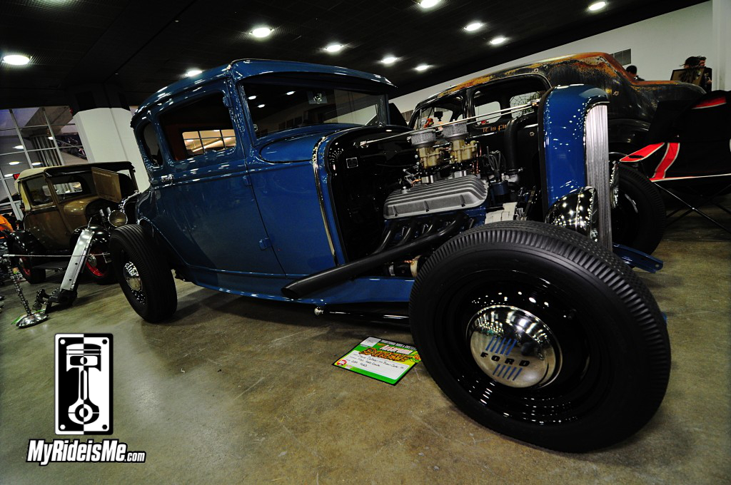 Model A Hot Rod Coupe, 2014 Detroit Autorama Basement, Hot Rod pictures