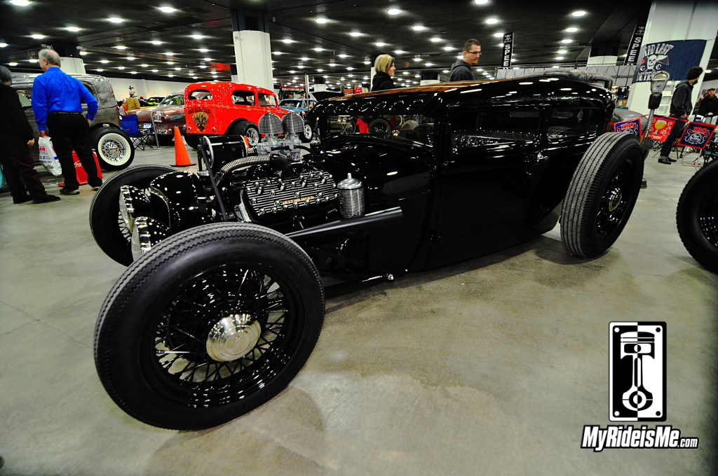 Ford Hot Rod Sedan, 2014 Detroit Autorama Basement, Hot Rod pictures