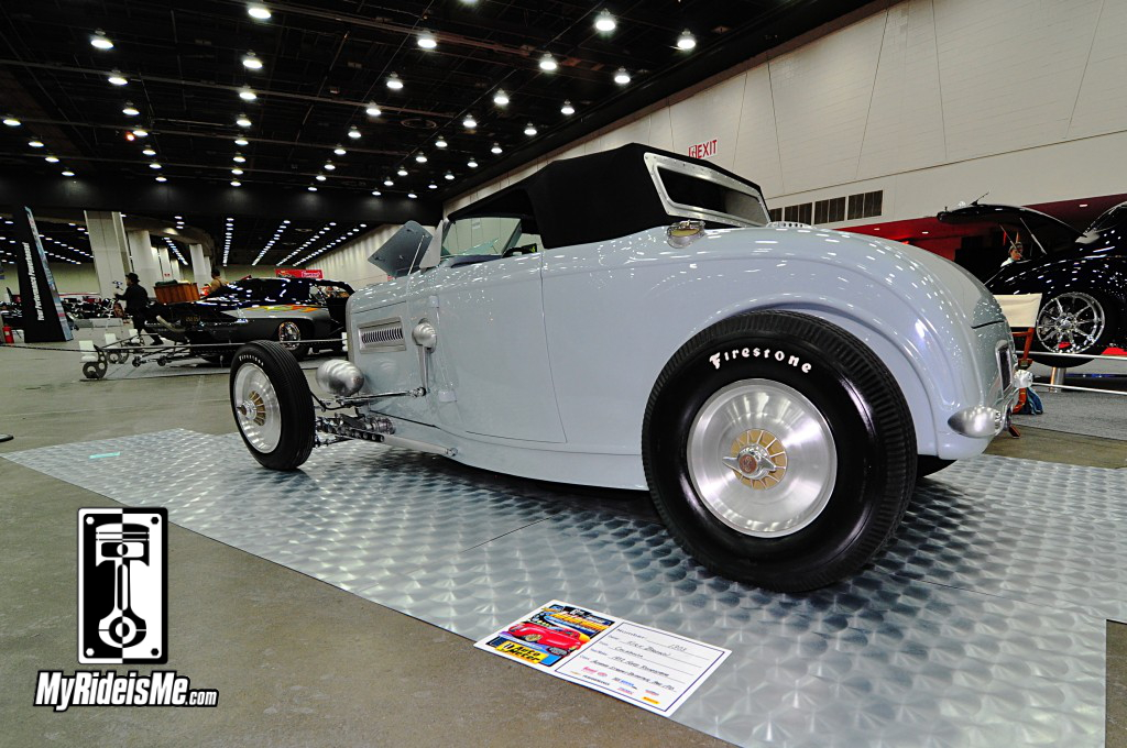 1932 Ford Roadster, 2014 Detroit Autorama, Hot Rods, Hot Rod car show pictures