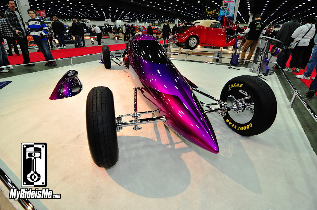 Bonneville Lakester, 2014 Detroit Autorama, Hot Rods, Hot Rod car show pictures
