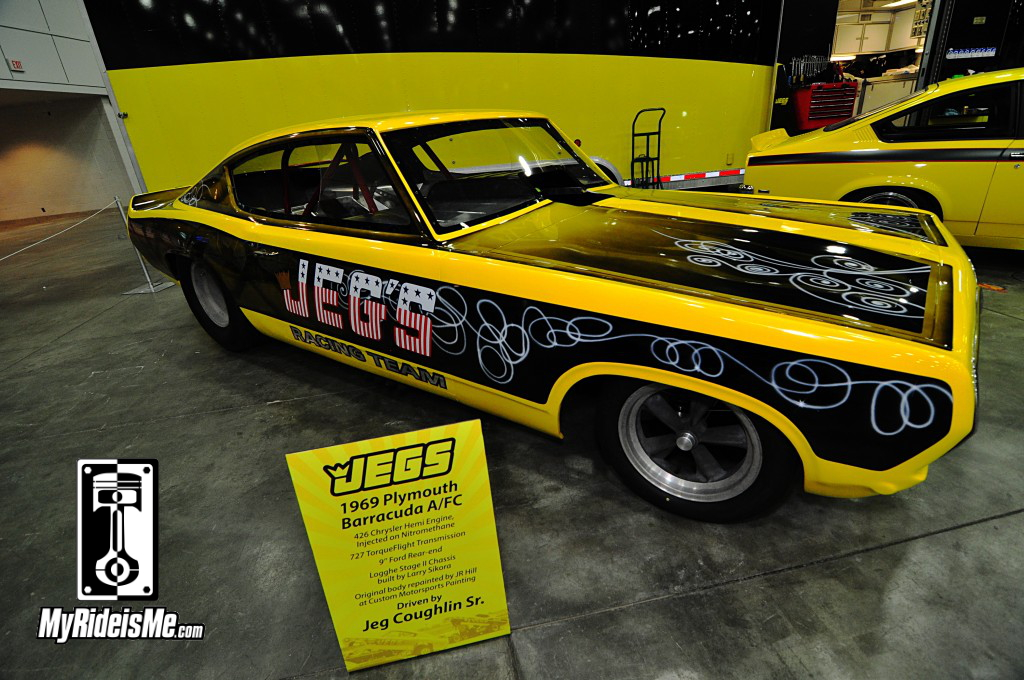 1969 Plymouth Barracuda A/FC,2014 Detroit Autorama, Hot Rods, Hot Rod car show pictures