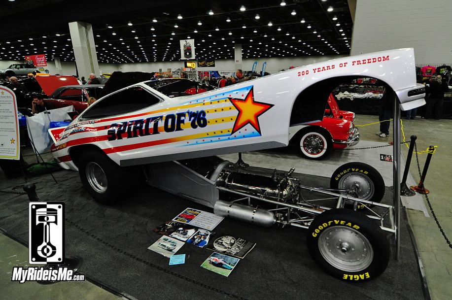 1976 Mustang II Rocket Car, 2014 Detroit Autorama, Hot Rods, Hot Rod car show pictures