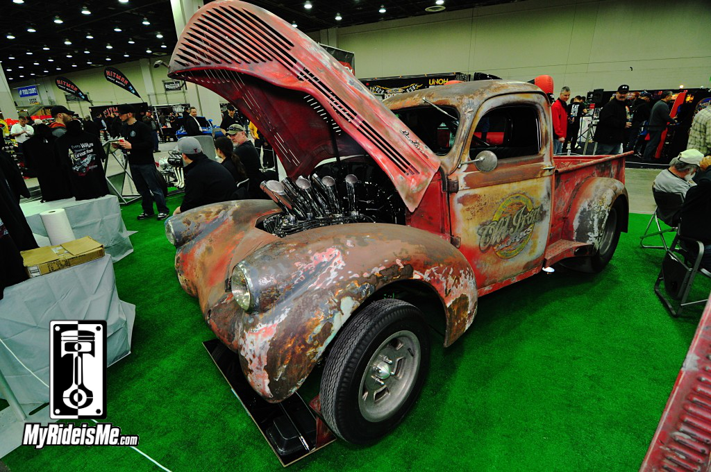 1938 Willys Pickup, 2014 Detroit Autorama, Hot Rods, Hot Rod car show pictures