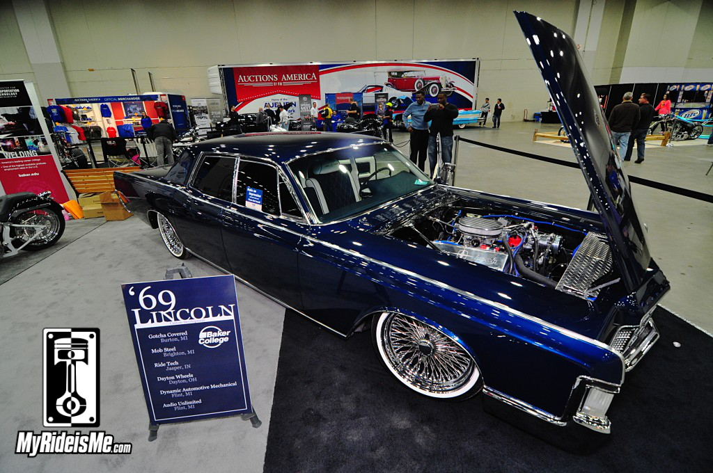 1969 Lincoln Continental, 2014 Detroit Autorama, Hot Rods, Hot Rod car show pictures