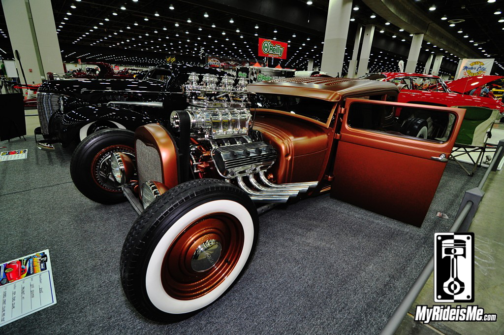1929 Ford Model A Hot Rod, 2014 Detroit Autorama, Hot Rods, Hot Rod car show pictures