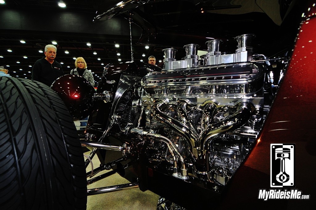 1933 Ford 5-Window Coupe engine, 2014 detroit autorama pictures, 2014 great 8 pictures, 2014 Ridler award contenders