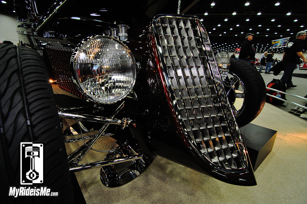 1933 Ford 5-Window Coupe custom grille, 2014 detroit autorama pictures, 2014 great 8 pictures, 2014 Ridler award contenders