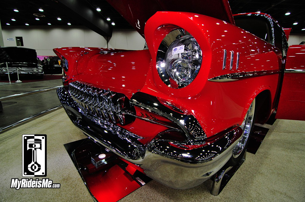 1957 Chevy Bel-Air grille, 2014 detroit autorama pictures, 2014 great 8 pictures, 2014 Ridler award contenders