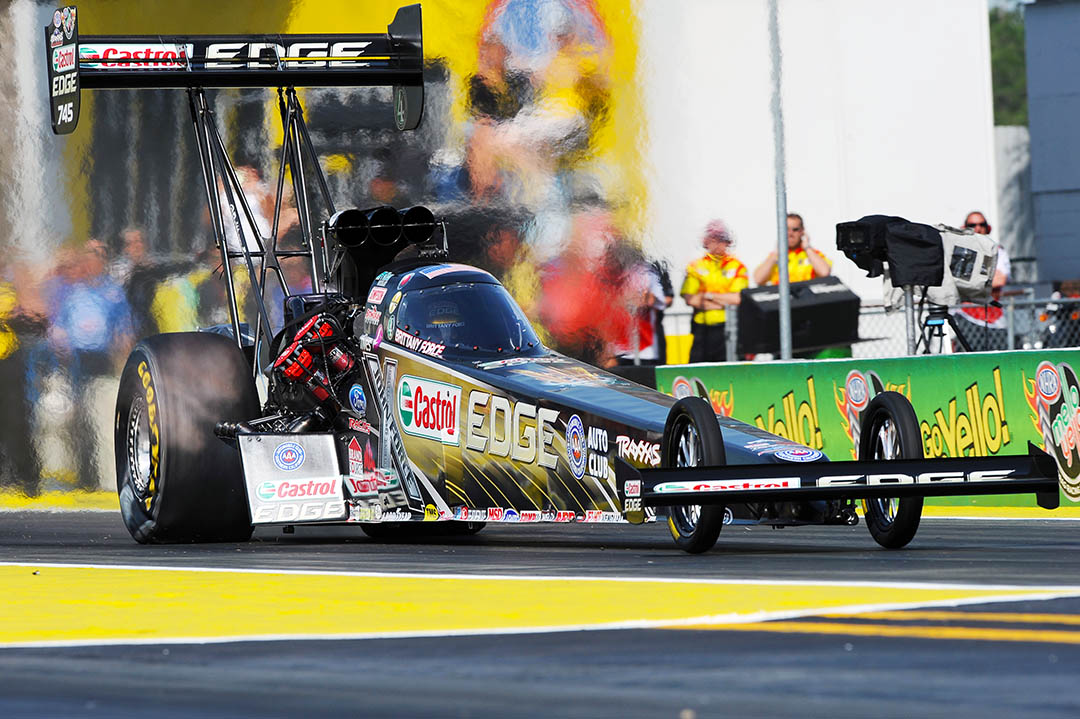 Brittany Force, Top fuel dragster, john force racing