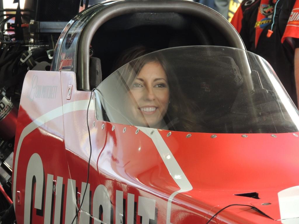 Leah Pritchett, NHRA Top Fuel driver