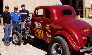 """Internet Barn Finds"" #2: '33 Willys Gasser Tribute"