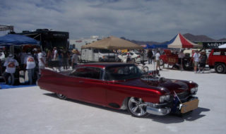 Speedweek Push Vehicle:  Blown Cherry Red Caddy