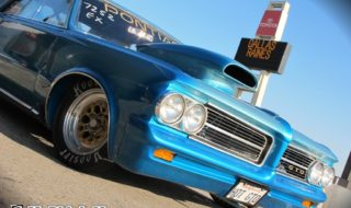 1964 Pontiac GTO Heats Up the Drag Strip