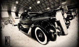 1935 Dodge Custom Shining Up the Suede Palace