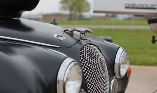 1959 Jaguar Sedan reaches 200 at the Ohio Mile
