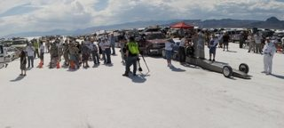 Day 2 – Speedweek 2011 at Bonneville Salt Flats