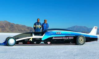 841 Cubic Inches and 1,850 Horsepower to Bonneville for Fun, Records and Charity