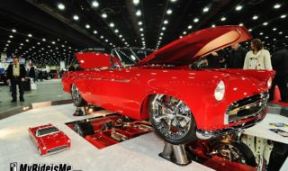 2012 Ridler Winner – Family Peace 55 Thunderbird