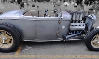 Pinkee's Built 1932 Ford Roadster – Riveted and Injected