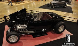 Bird's Eye View of the 2013 AMBR Contending Hot Rods
