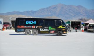 Racing RV Rocks at 2013 Bonneville Speed Week