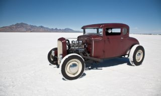 Hot Rods and Customs at 2013 Bonneville Speed Week