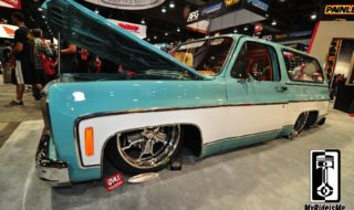 Best of SEMA 2013 #7 – Custom GMC Jimmy on Air