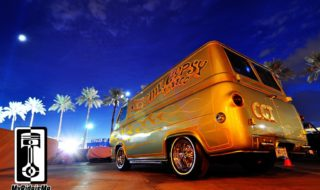 Metal Flake Gypsy Custom Van Shines at SEMA Show 2013