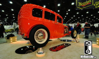 2014 Ridler Award – 1932 Ford Sedan A Close 2nd Place