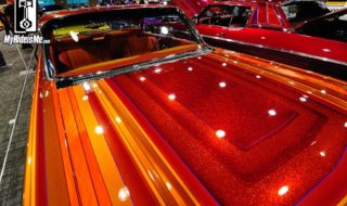 Flaked and Low – Lowrider Custom Paint at 2014 GNRS