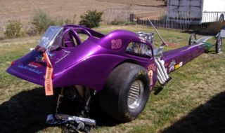 "The Day a ""GIRLIE-GIRL"" drove my dragster!"