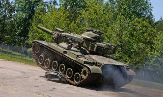 Tanks Crushing Cars at the Tank Museum