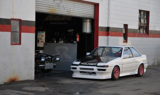 Purpose Built Power-Weight Ratio AE86 Coupe