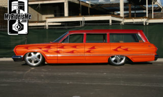 El Diablo – Adam Hartley's 1963 Chevrolet Impala Wagon