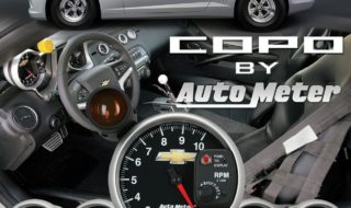 Official Licensed COPO Camaro Gauges from Auto Meter