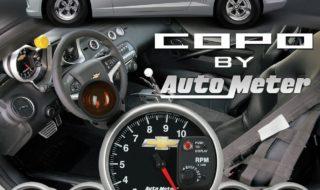 Official Licensed COPO Camaro Gauges from Auto Meter
