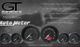 New Auto Meter GT Series Gauges – The Carbon Look