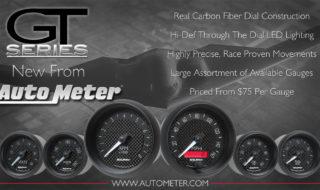 New Auto Meter GT Series Gauges – The Carbon Look