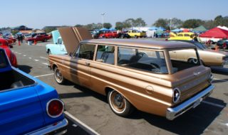 Bone Stock Marries Plain Jane: Falcon Wagon