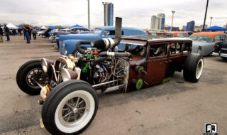 Diesel Rat Rod: Smoky, Spin'n Burnout Video