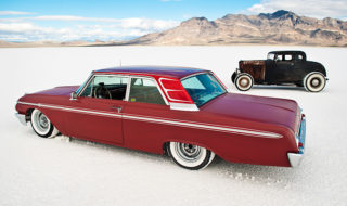Galaxie Custom and Bonneville Salt Cruiser