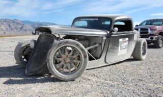 Bummer! 33 Ford Coupe Goes Down at Optima Invitational Race