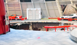 National Corvette Museum Reports Serious Sinkhole Collapse
